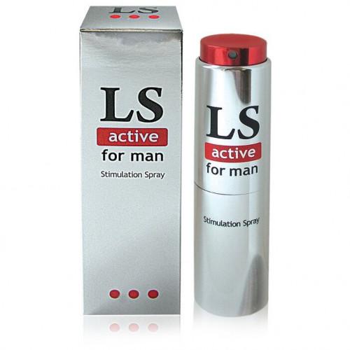 LoveSpray active for man, Возбуждающий спрей