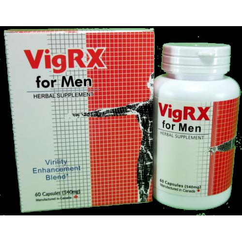Vig RX for Men (60 капсул), Виг рх для мужчин