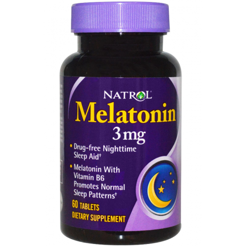 Natrol Melatonin 3mg ( 60таб )