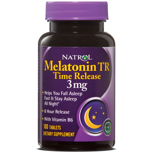 Natrol Melatonin 3mg ( 100таб )